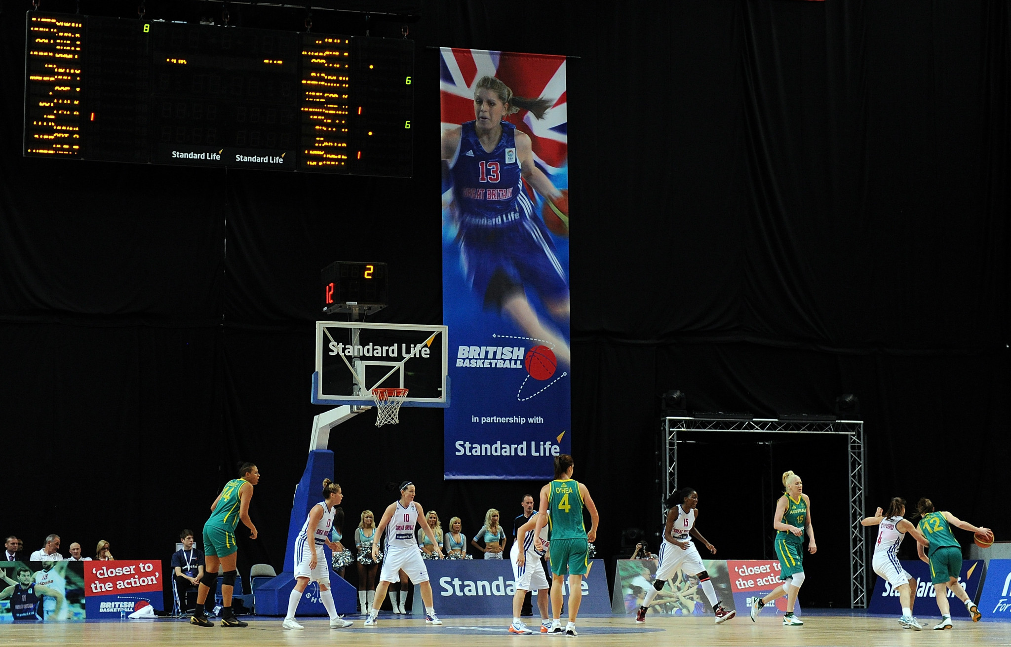 The British Basketball Federation say they will run out of money by April due to funding cuts ©Getty Images