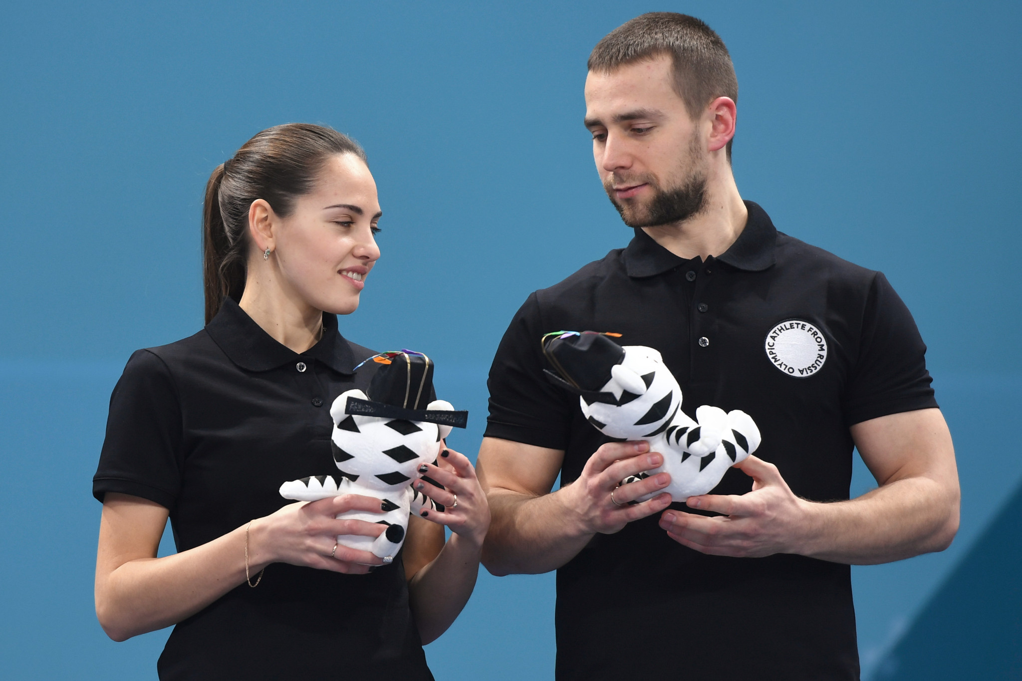 Aleksandr Krushelnitckii's decision to accept his positive drugs test at Pyeongchang 2018 means he and his wife Anastasia Bryzgalova will lose the Olympic bronze medal they won in mixed curling ©Getty Images