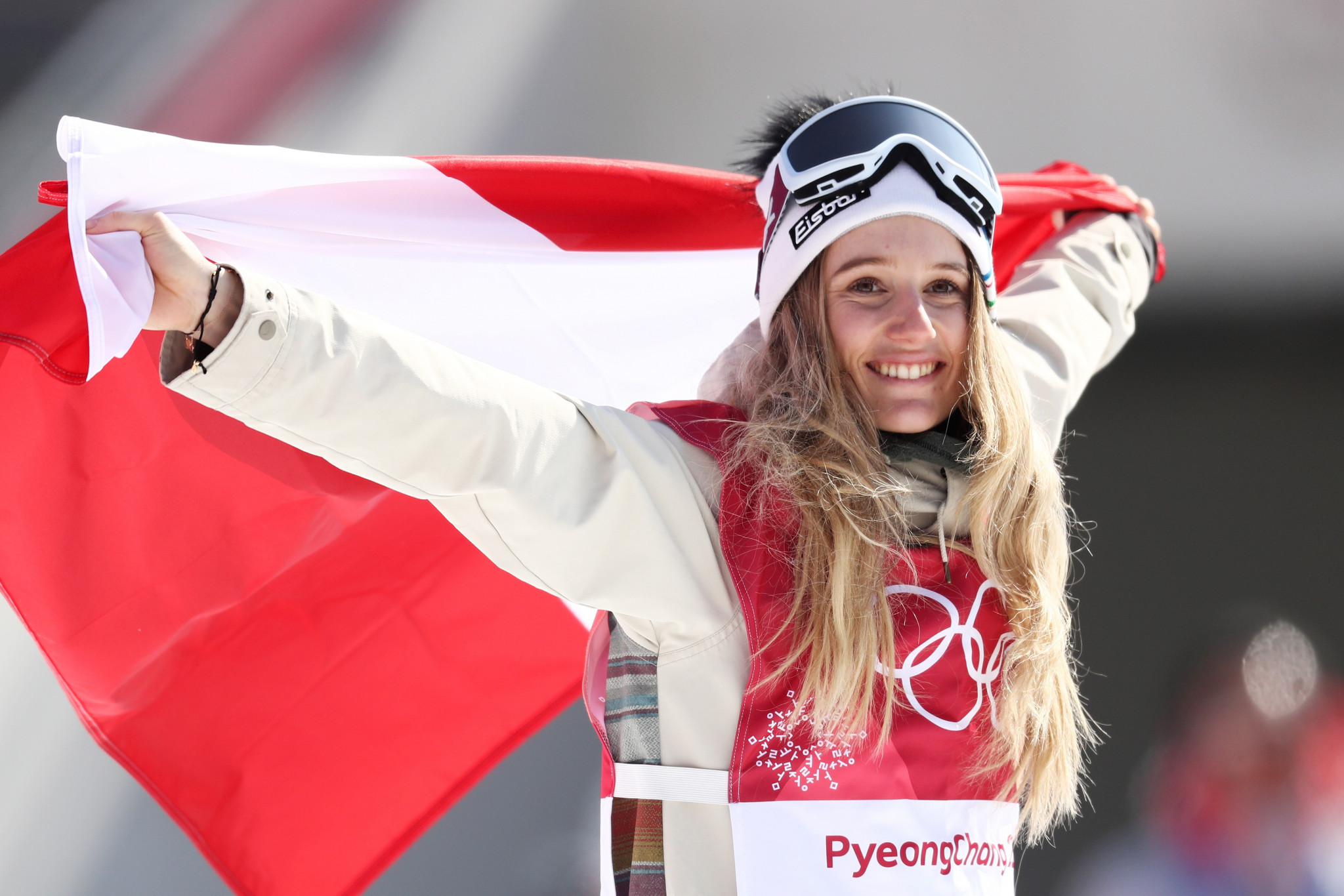 Austria's Gasser wins first-ever Olympic big air snowboard gold medal at Pyeongchang 2018