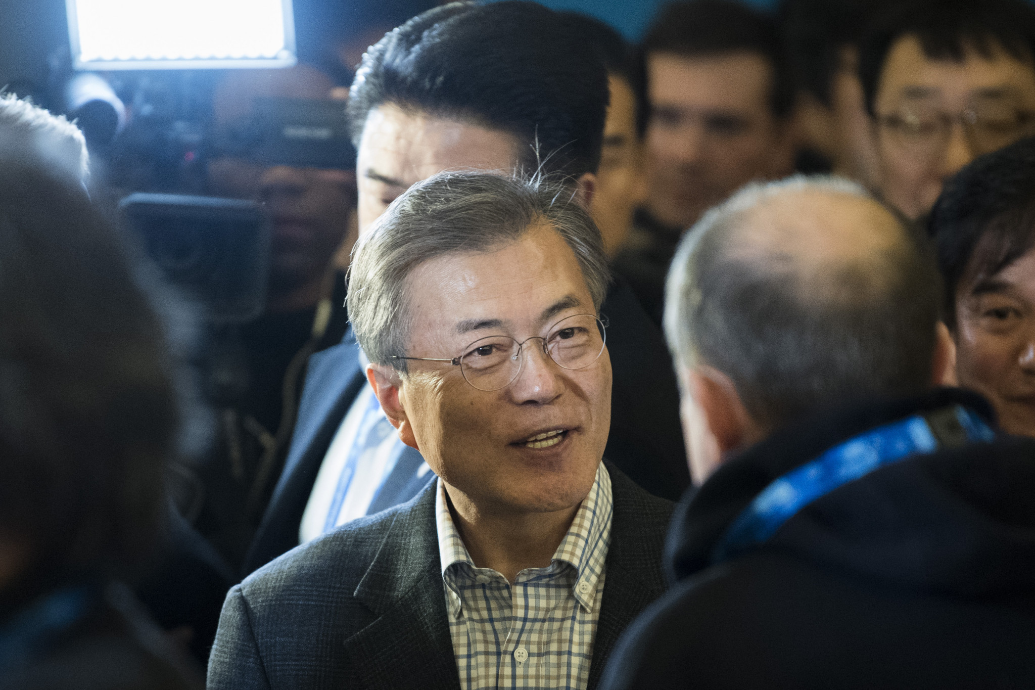 Moon hails presence of Russian athletes at Pyeongchang 2018 despite doping scandal