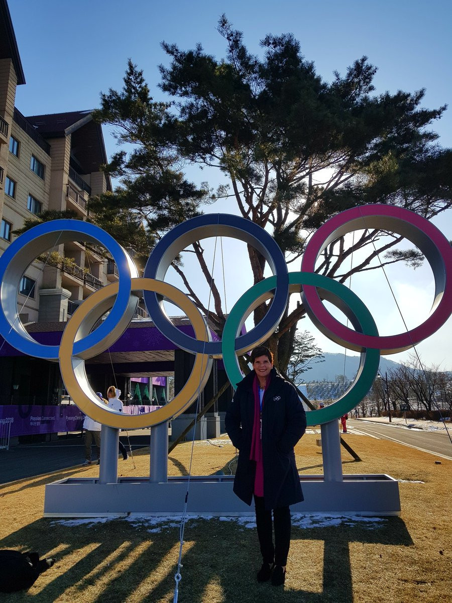 Aruba's Nicole Hoevertsz is head of the IOC Commission which is supposed to recommend whether Russia should be reinstated in time for the Closing Ceremony of Pyeongchang 2018 ©Twitter