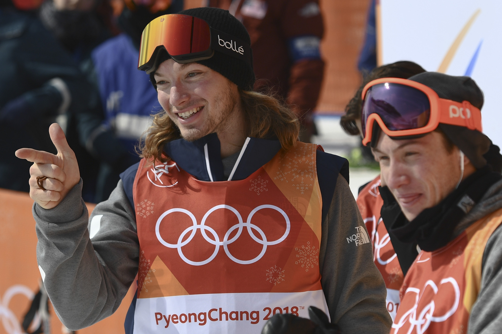 The United States' David Wise produced a stunning final run to successfully defend his Olympic halfpipe title at Pyeongchang 2018 ©Getty Images