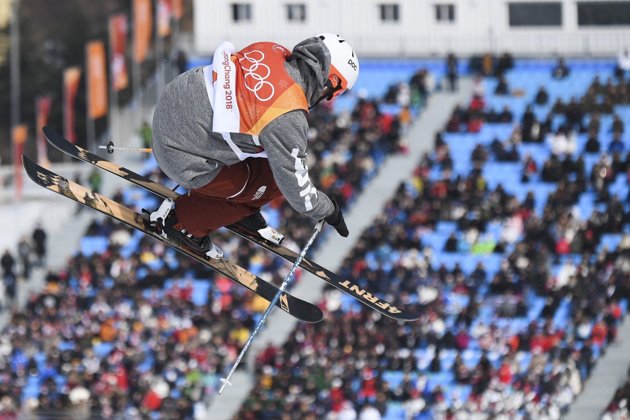 Alex Ferreira's third-run score of 96.40 points earned him the silver medal ©Getty Images