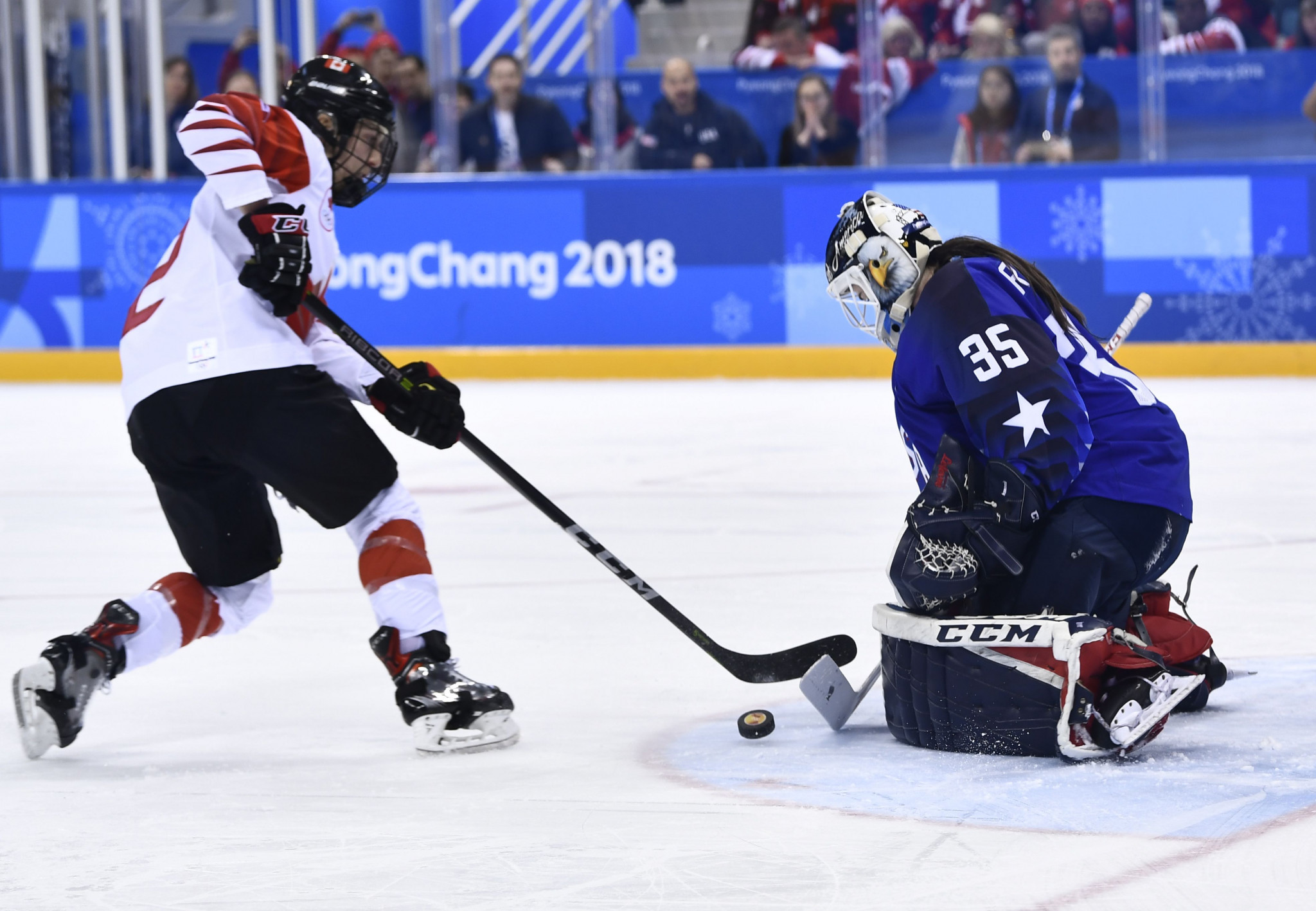 United States beat Canada in dramatic shoot-out to clinch first Olympic women's ice hockey title for 20 years