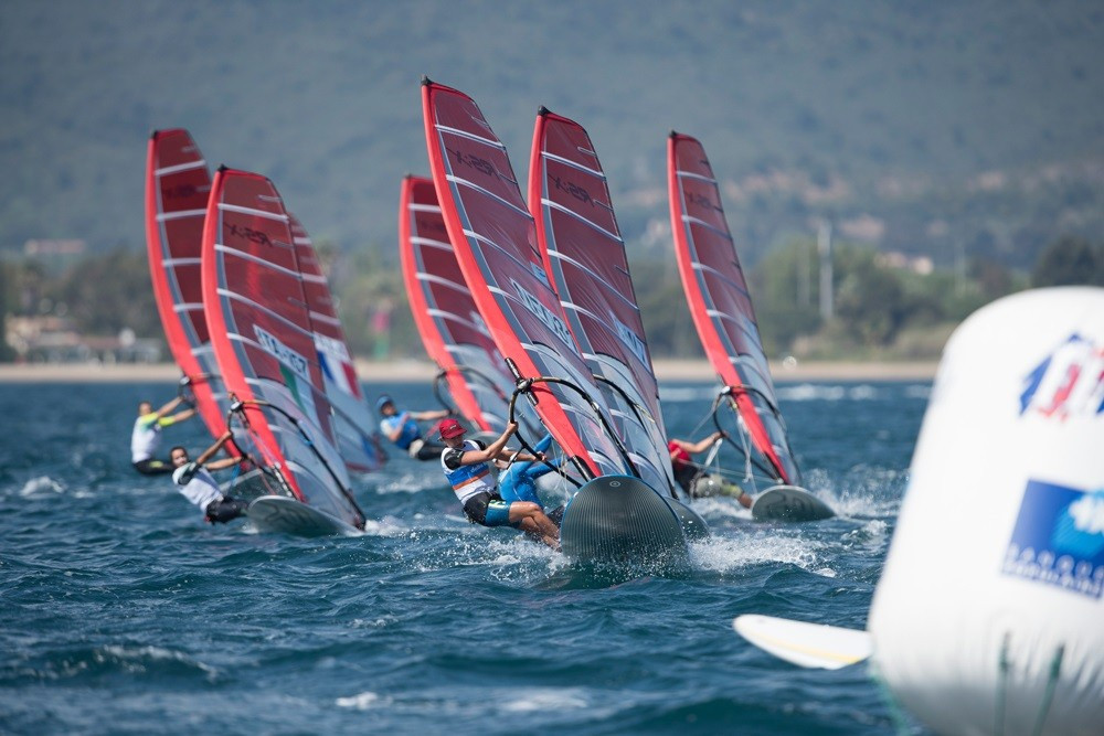 Rindom and Van Acker renew rivalry at International Sailing Federation World Cup in Hyères
