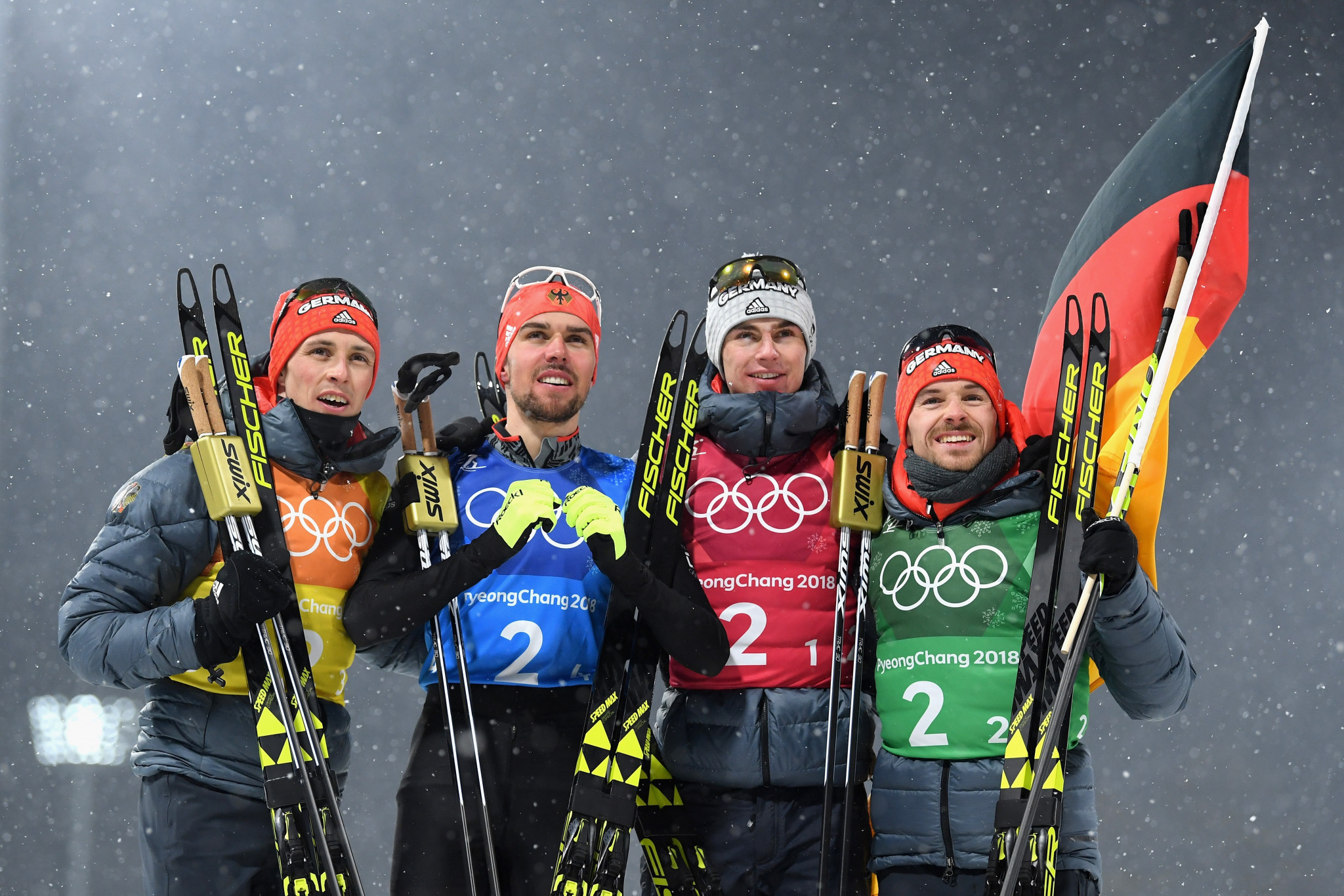 Germany ease to victory in team event as Nordic combined action at Pyeongchang 2018 concludes