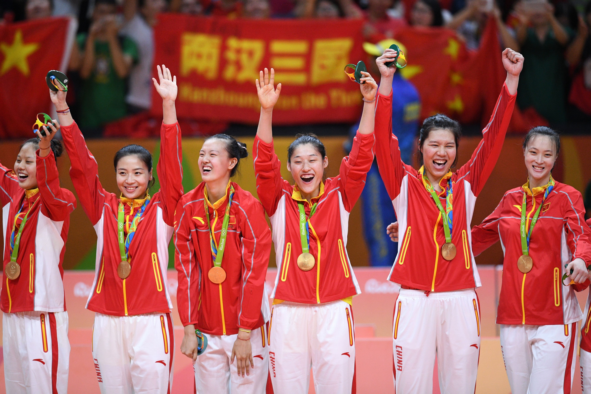 China's women are Olympic volleyball champions ©Getty Images