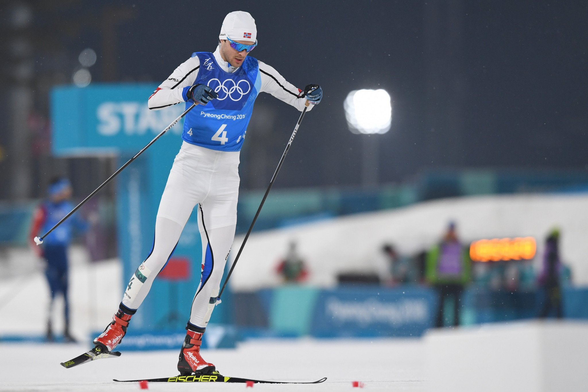 Joergen Graabak sealed a second-place finish for Norway ©Getty Images