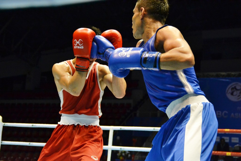 Uzbekistan unbeaten on first day of quarter-finals at ASBC Asian Confederation Boxing Championships