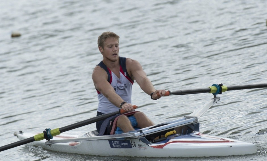 Britain's Laurence Whiteley secured a Rio 2016 quota place today at the World Para-Rowing Championships alongside Lauren Rowles in the mixed double sculls ©GB Rowing Team