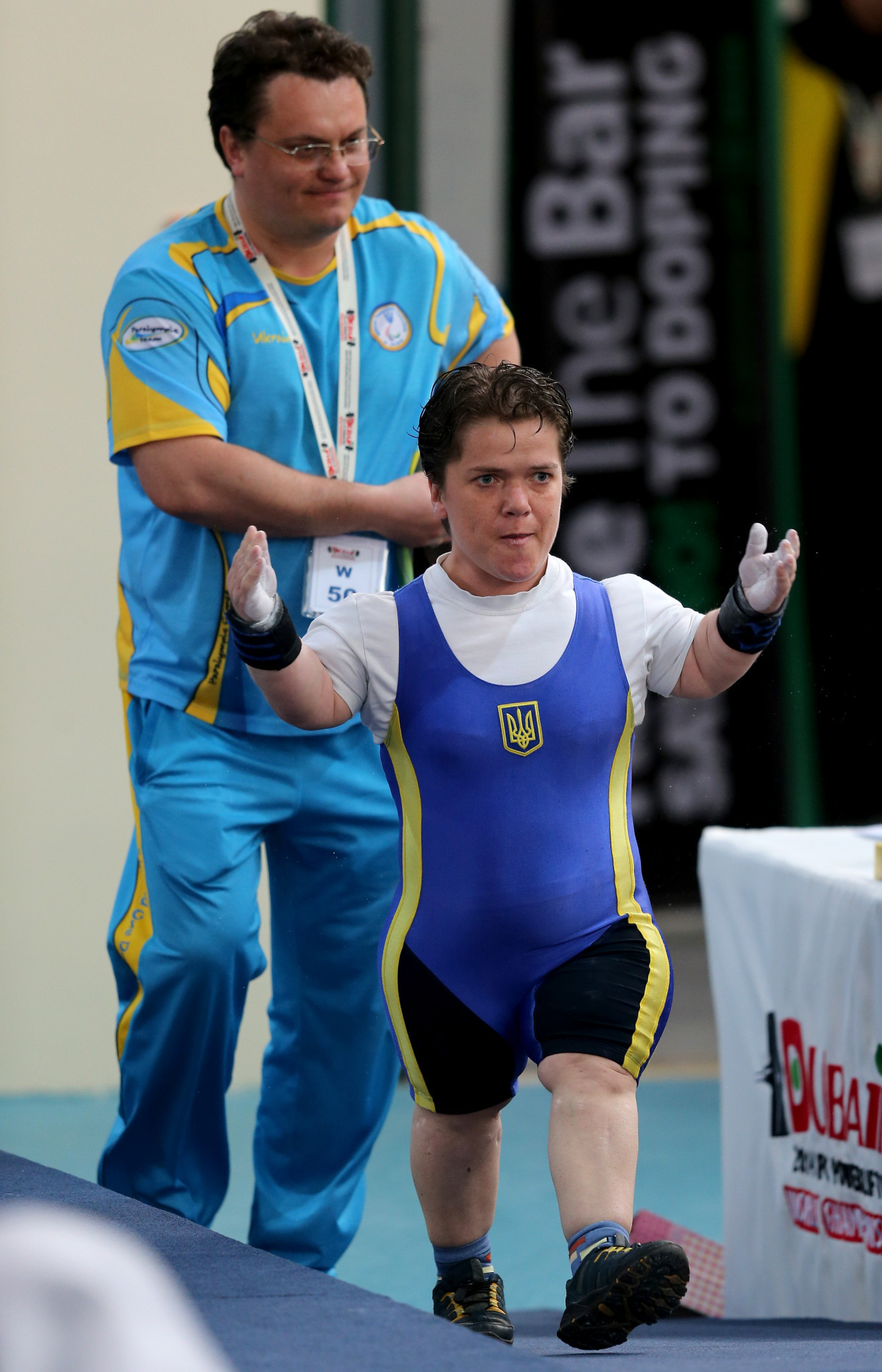 Lidiia Soloviova was one of a number of Paralympic champions at the event ©Getty Images