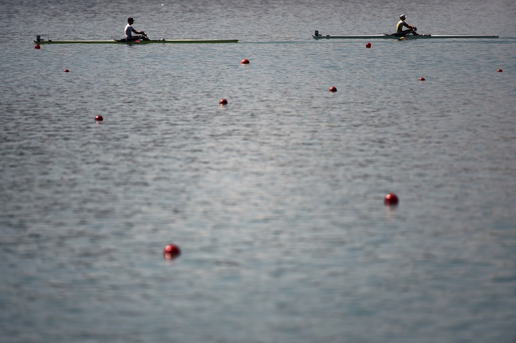 Action will continue on the French lake in both the Para and able-bodied events tomorrow ©Getty Images