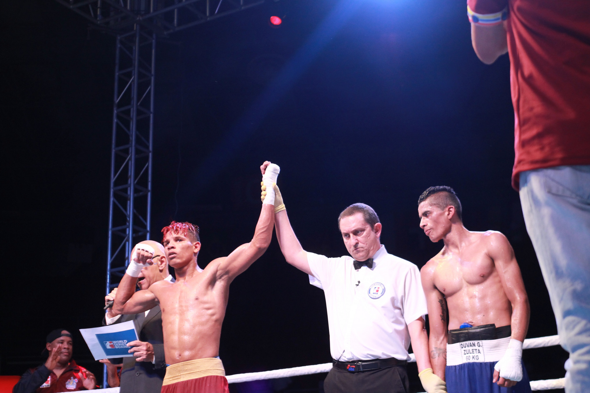 Colombia Heroicos seeking first win of World Series of Boxing season