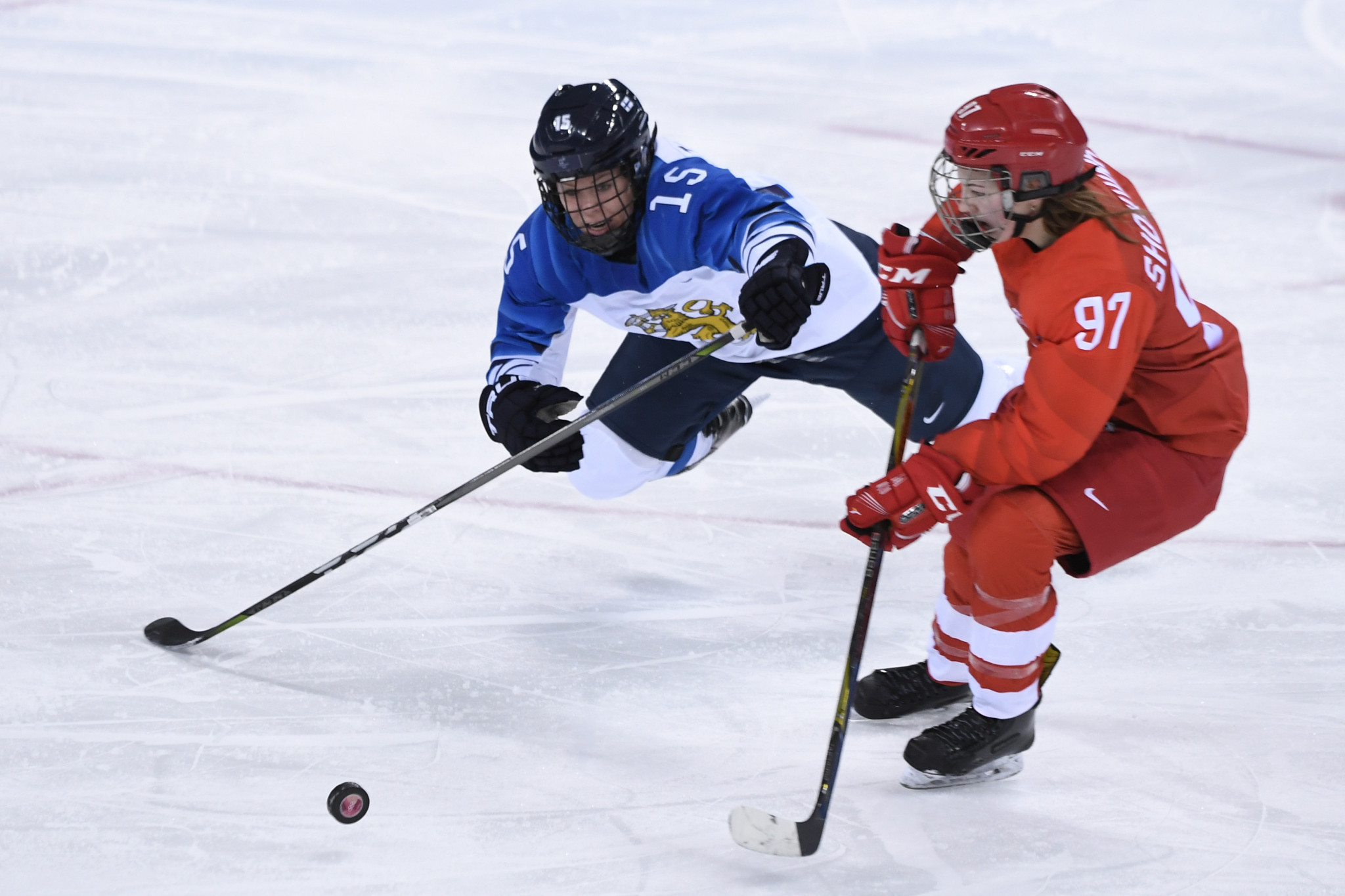 Russian ice hockey player cleared of doping by IOC suspended for kicking infraction at Pyeongchang 2018