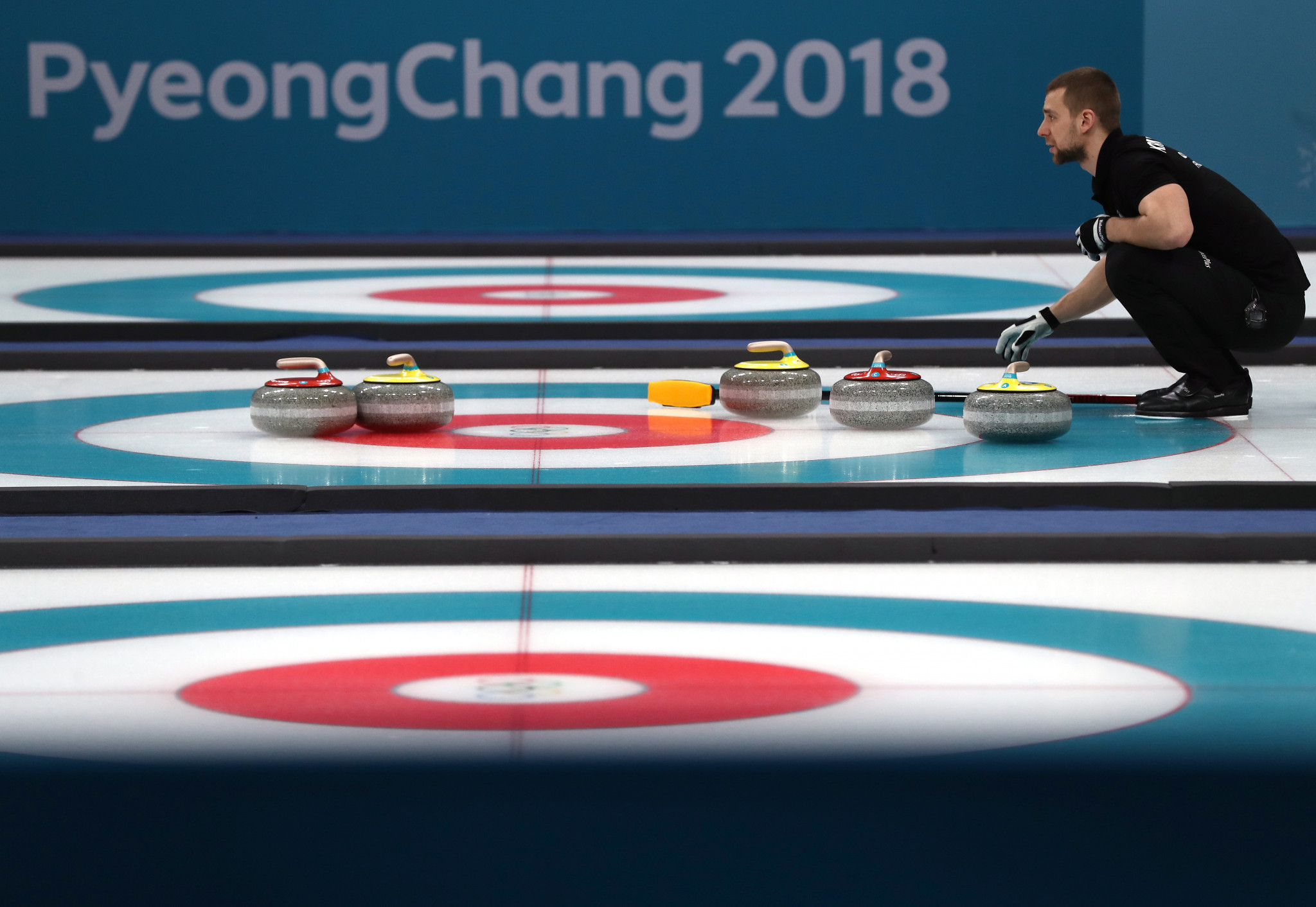 Aleksandr Krushelnitckii was stripped of the Pyeongchang 2018 bronze medal he won in the mixed doubles curling following a failed drugs test for meldonium ©Pyeongchang 2018