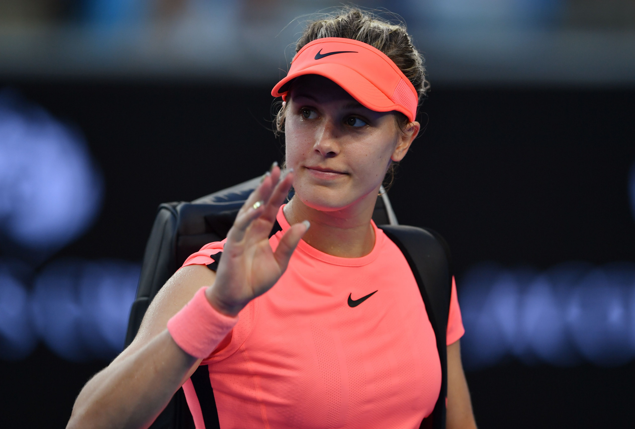 Bouchard in line for huge compensation pay out after USTA ruled most at fault for changing room fall