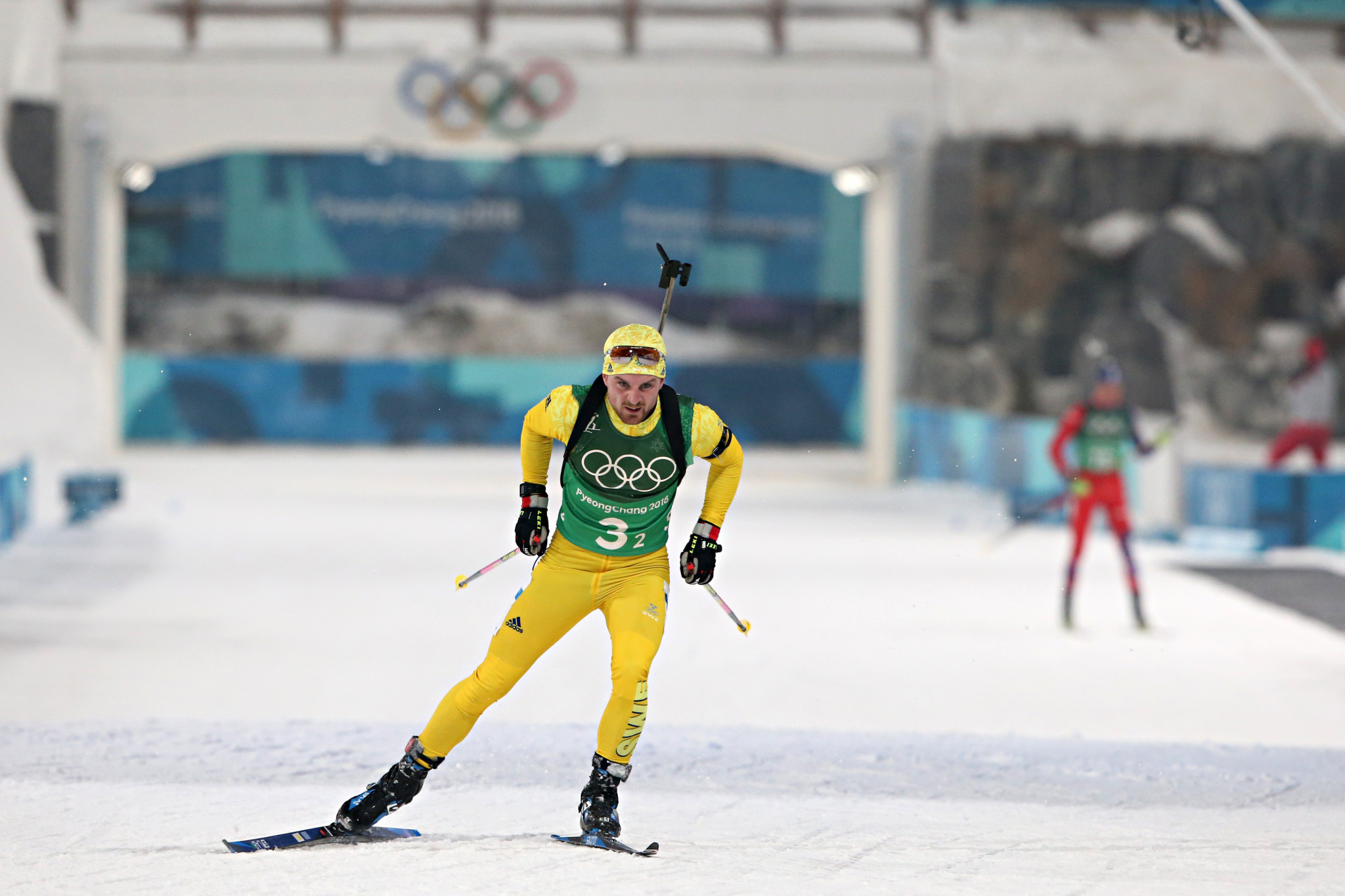 Sweden had never won a relay in biathlon at an Olympic Games before today ©Getty Images