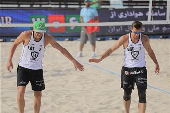 Latvian pairing continue impressive form to reach semi-finals at FIVB Beach World Tour in Kish Island