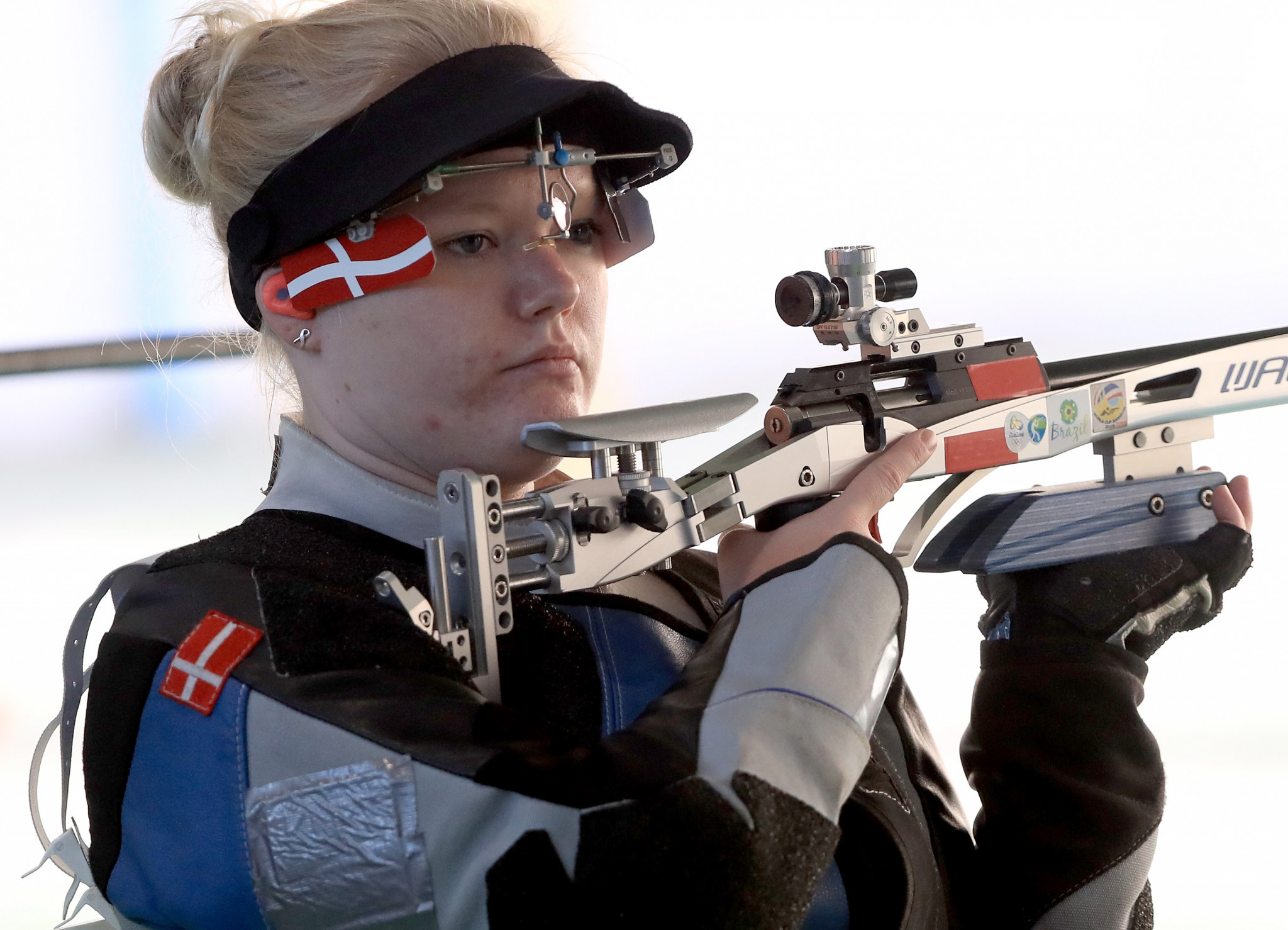 Stine Nielsen triumphed in the women's 10m air rifle event ©Getty Images