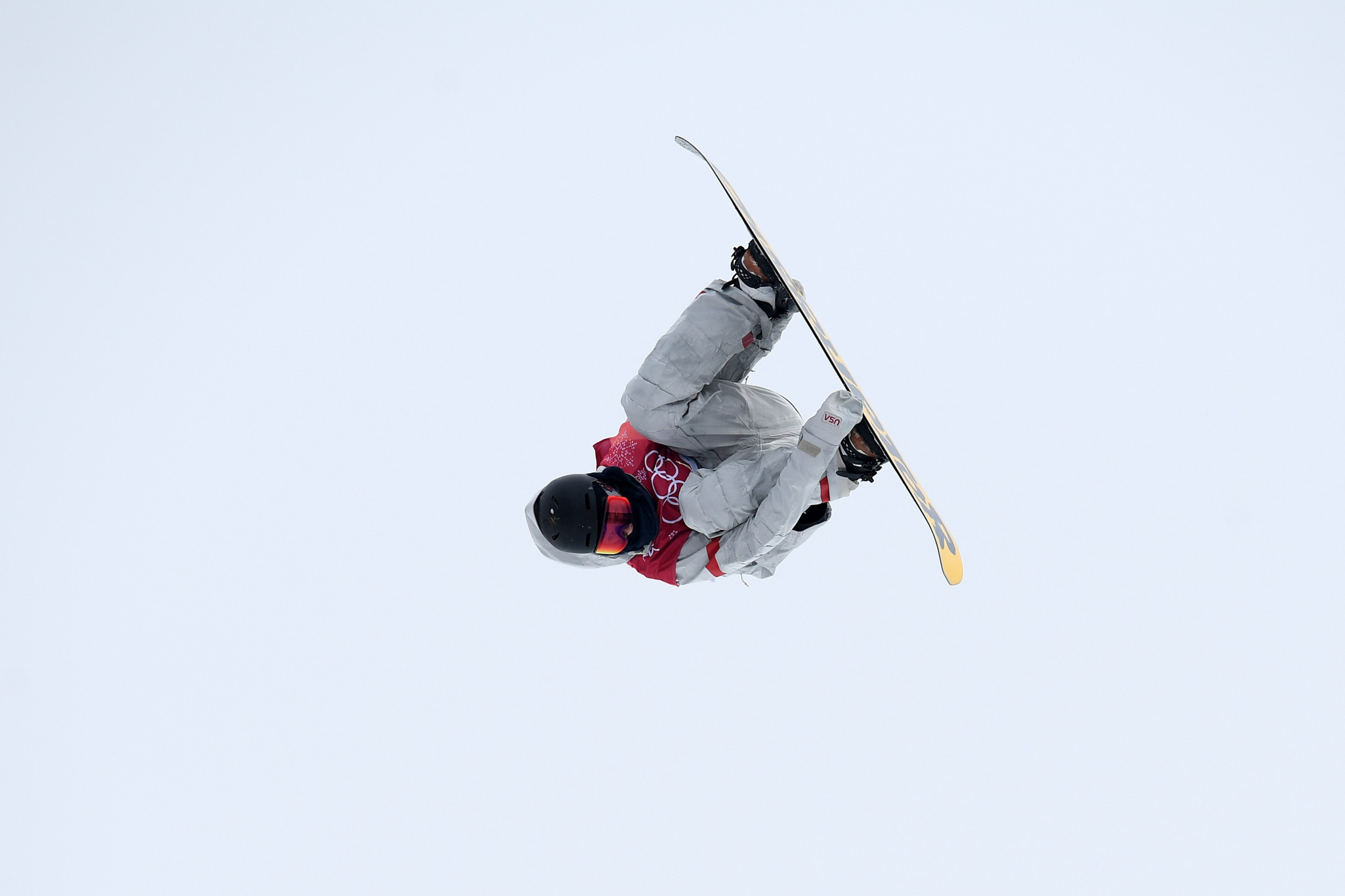 The United States' Kyle Mack produced strong first and second runs to take the silver medal ©Getty Images
