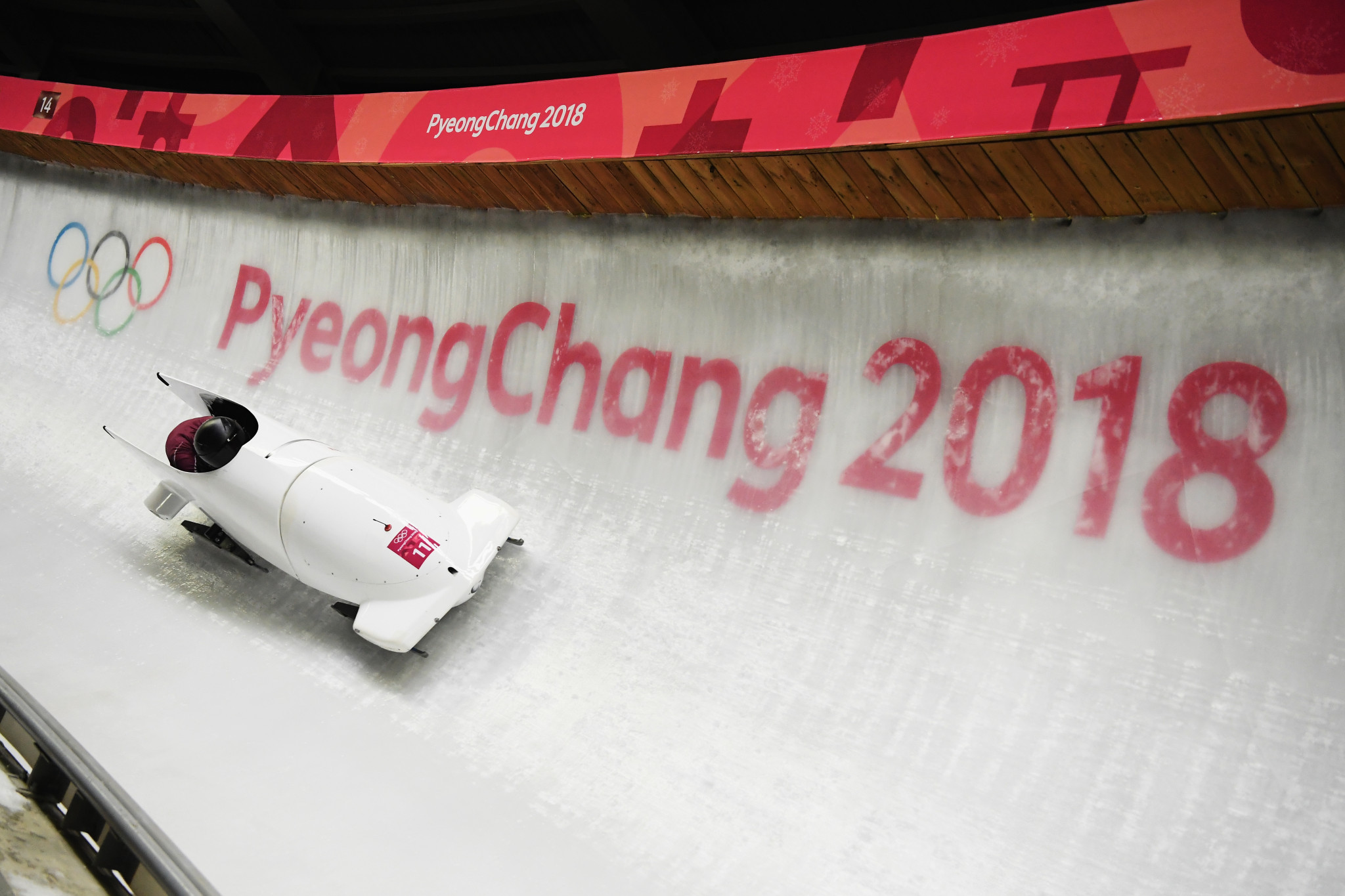 Russia's Nadezhda Sergeeva and partner Anastasia Kocherzhova finished 12th in the two-woman bob at Pyeongchang 2018 but now face disqualification following the former's positive drugs test ©Getty Images