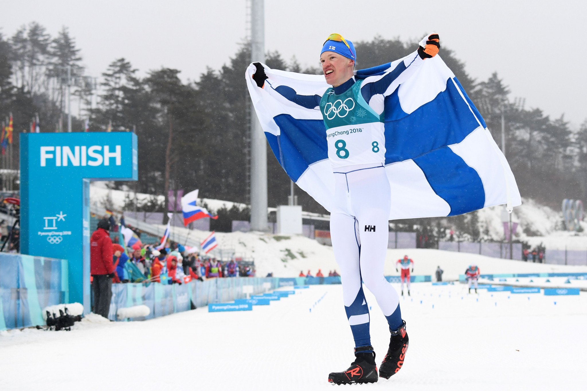 Finn wins men's 50km mass start classic to deny OAR gold at Pyeongchang 2018