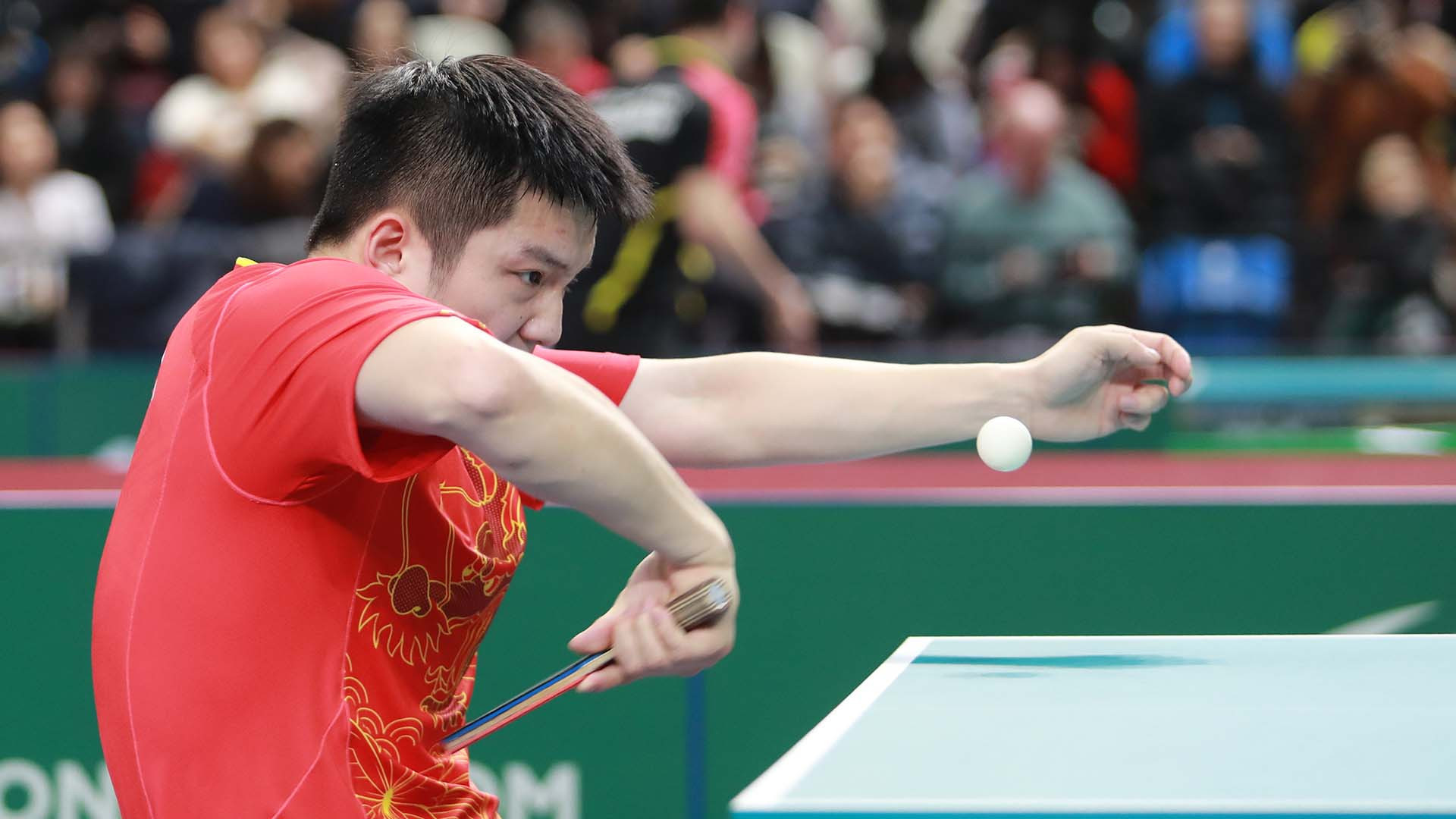 Hosts swept aside as China's men reach seventh consecutive ITTF Team World Cup final in London