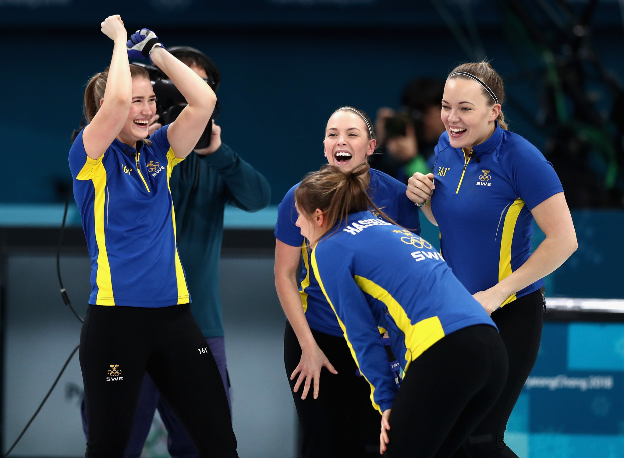 Sweden beat hosts South Korea to women's curling gold medal at Pyeongchang 2018