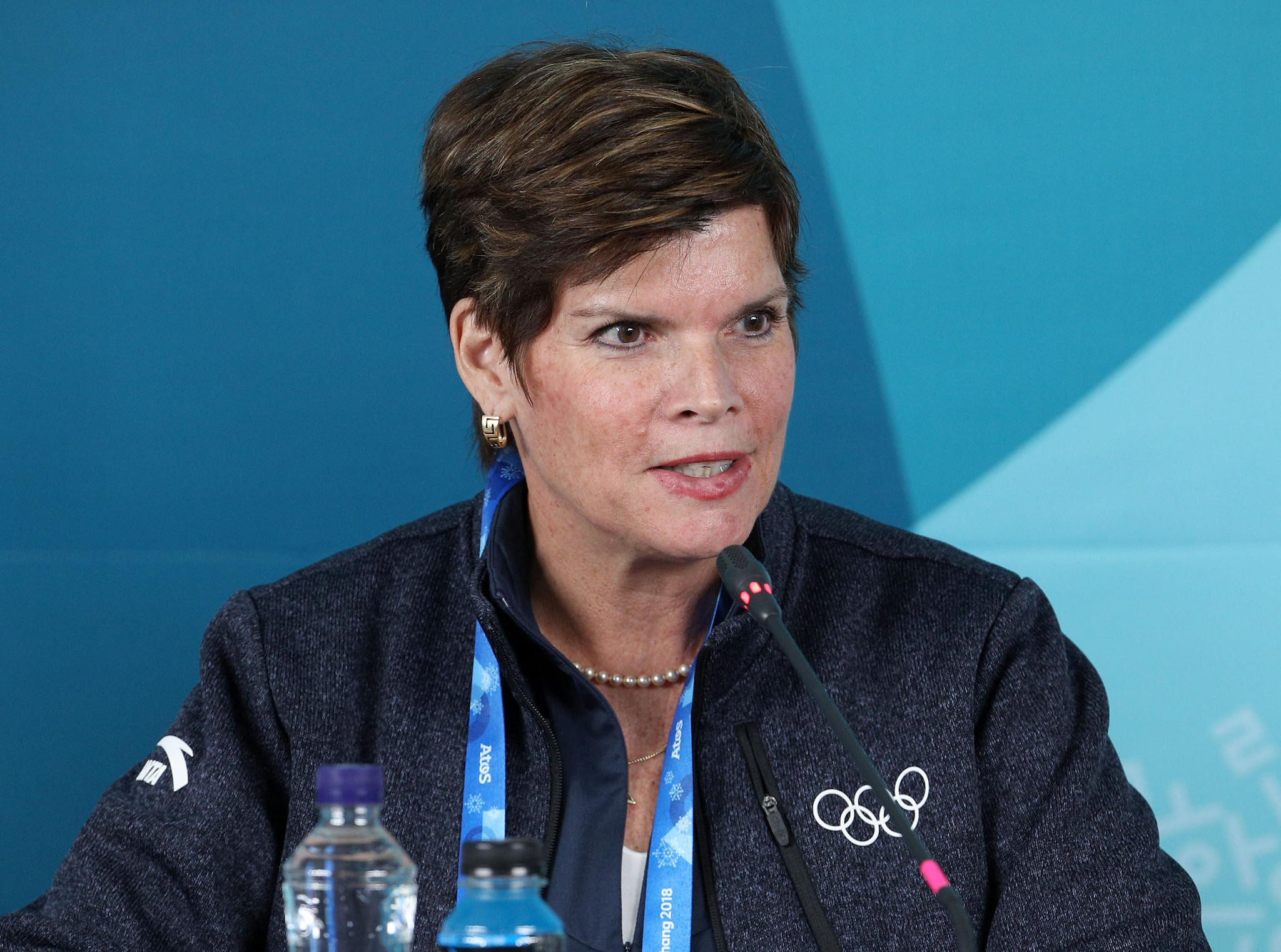 Nicole Hoevertsz chaired the panel tasked with assessing Russian eligibility ©Getty Images
