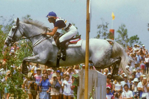 United states to team eventing gold at the 1984 olympic games in los