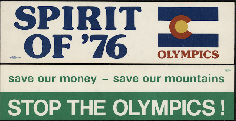 Denver won a bid to host the 1976 Winter Olympics but then gave them up following a referendum over funding ©Colorado History