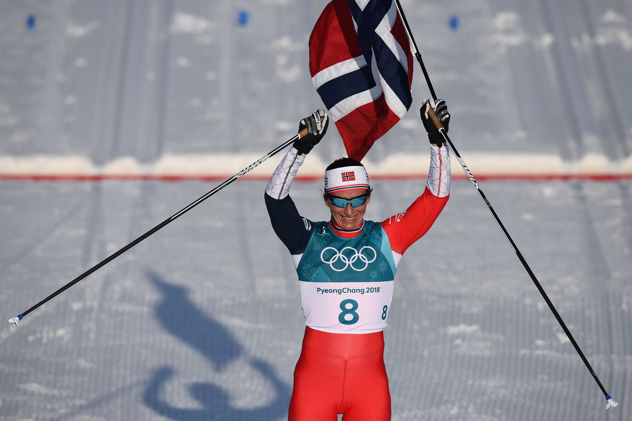 Norway's Marit Bjørgen claimed her eighth Winter Olympic Games gold medal ©Getty Images