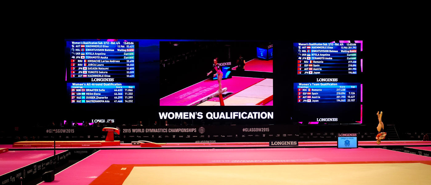 ADI have been appointed to provide big screens for the 2018 European Championships in Glasgow ©ADI