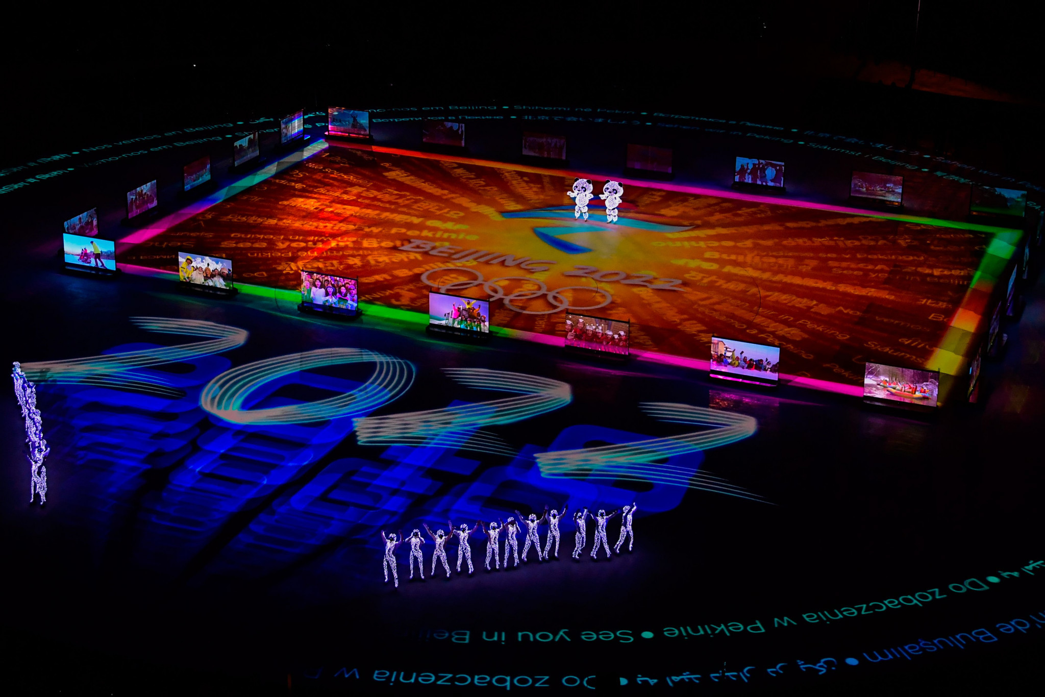 A presentation was given by Beijing, which will host the next edition of the Winter Olympics in 2022 ©Getty Images