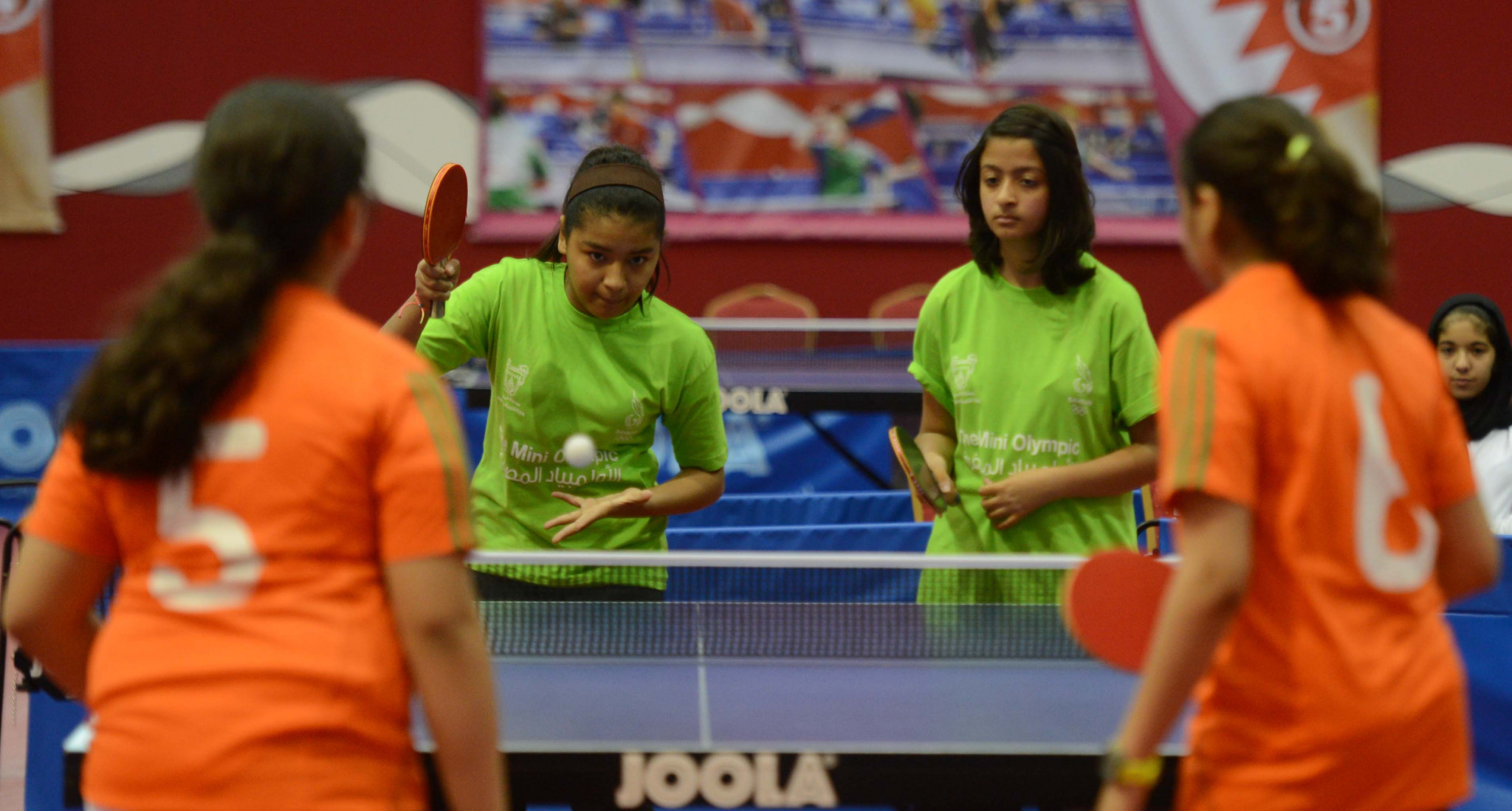 Table tennis is one of a number of sports on the programme ©BOC