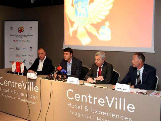 Delegation meets with Montenegro Olympic Committee to discuss Games of the Small States of Europe