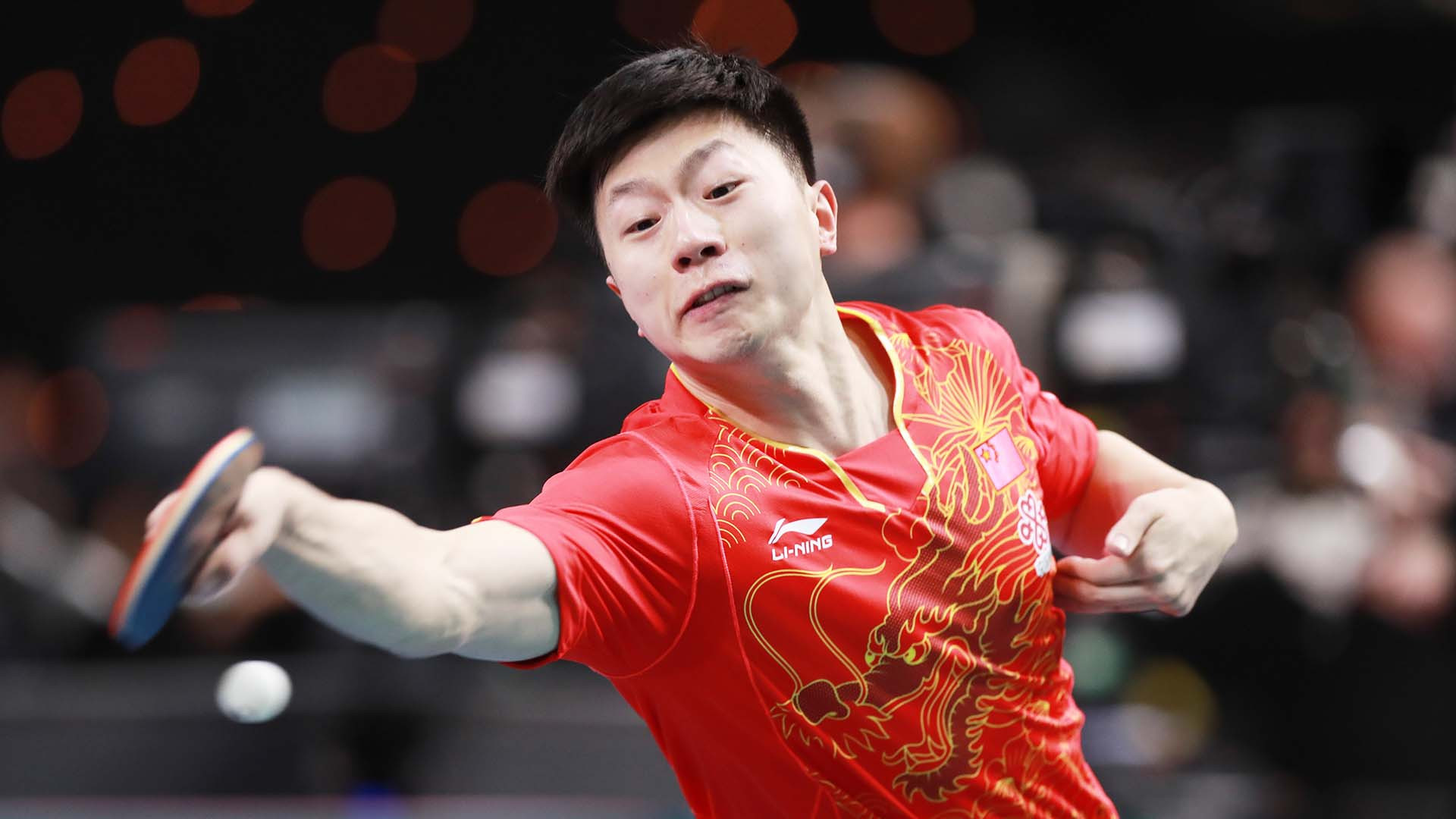China's Olympic and world champion Ma Long played a captain's part as they retained their ITTF Team World Cup title in London ©Getty Images