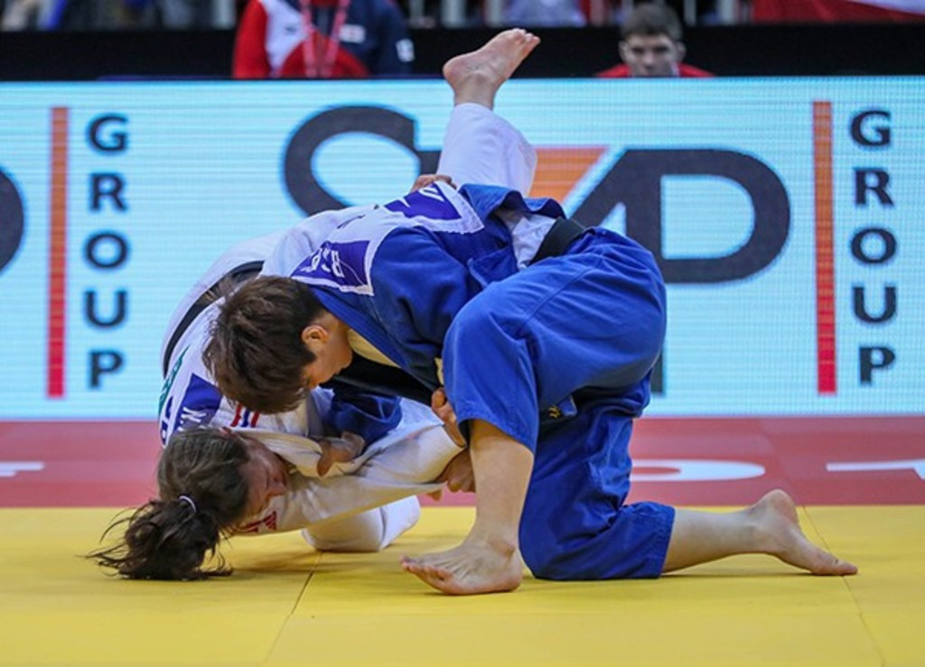 Both Japanese finalists disqualified in men's over-100kg final at IJF Grand Slam in Düsseldorf