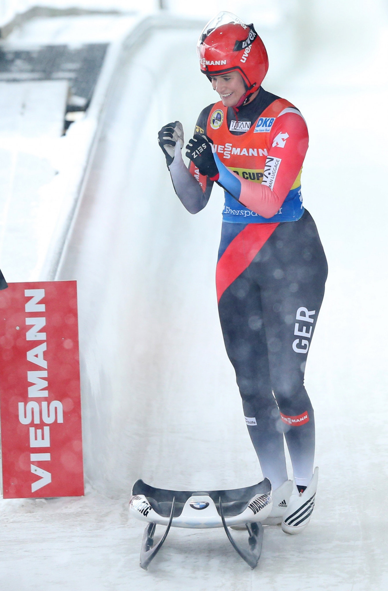 Viessmann and the International Luge Federation have been in partnership together since 1993 ©Getty Images
