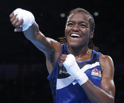 Nicola Adams is a pioneer for women's boxing having won the first gold medals in Olympic and Commonwealth Games history ©Getty Images