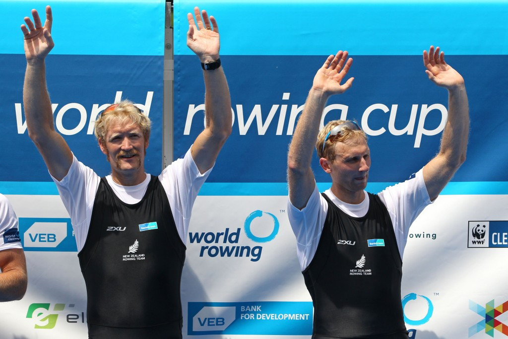 Bond and Murray continue winning streak as quarter final races begin at World Rowing Championships