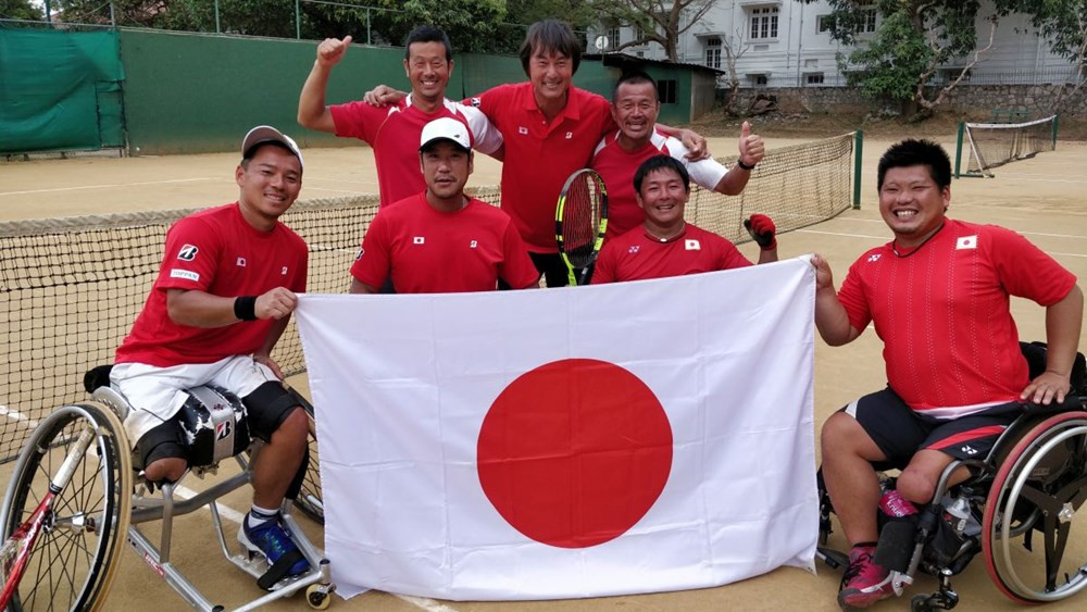 Japan seal men's berth at wheelchair tennis World Team Cup Finals