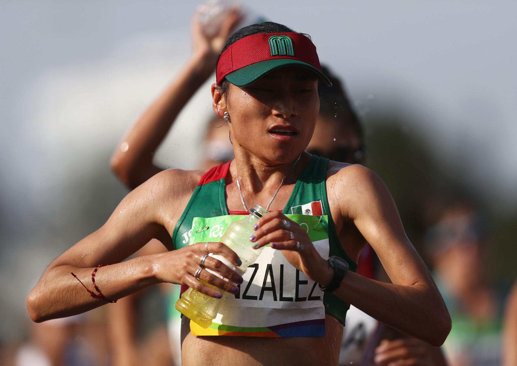 González dominates women's 20km event at IAAF Race Walking Challenge