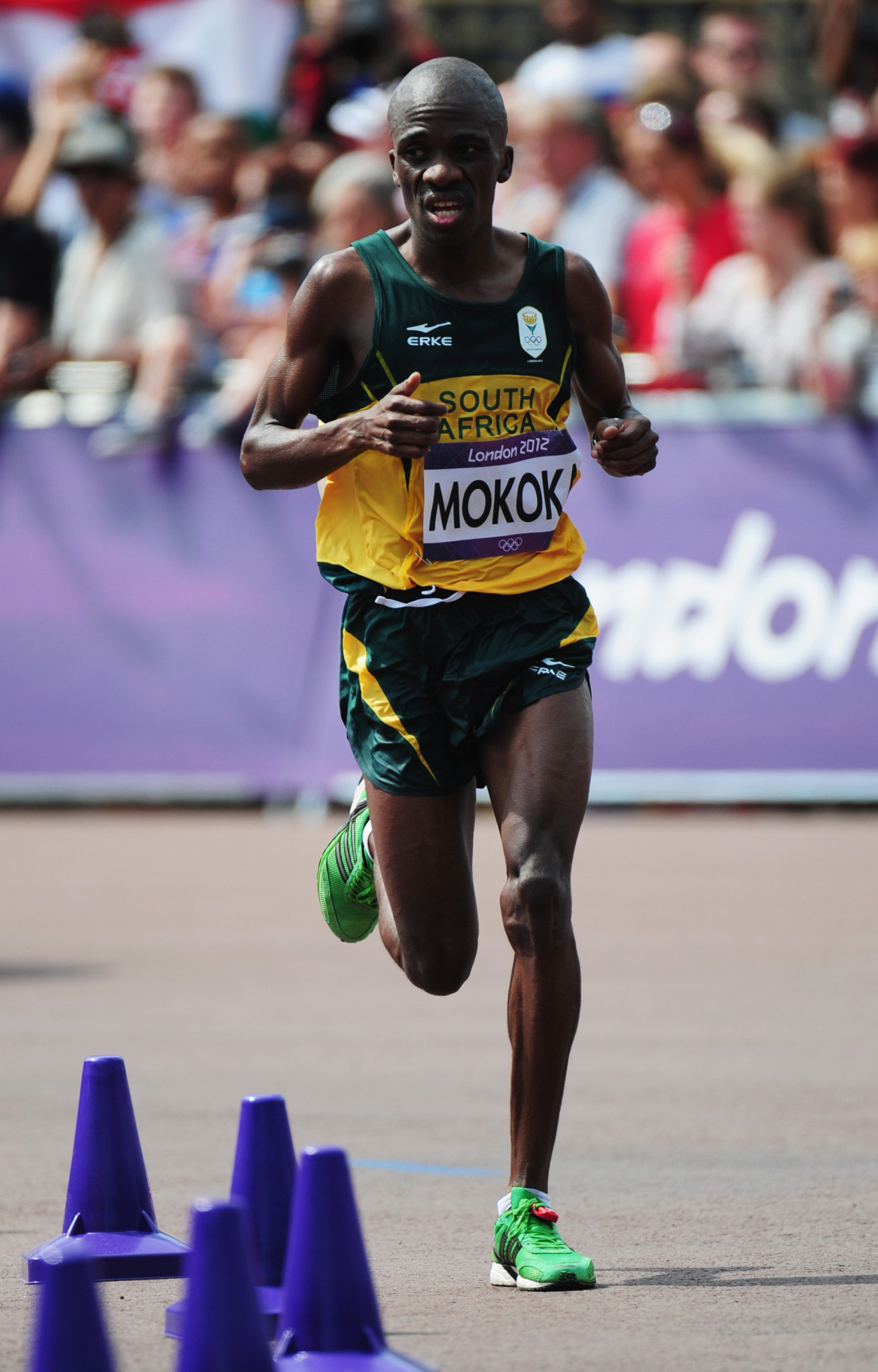 Two-time Olympian Stephen Mokoka is one of the latest additions to South Africa's Gold Coast 2018 squad ©Getty Images