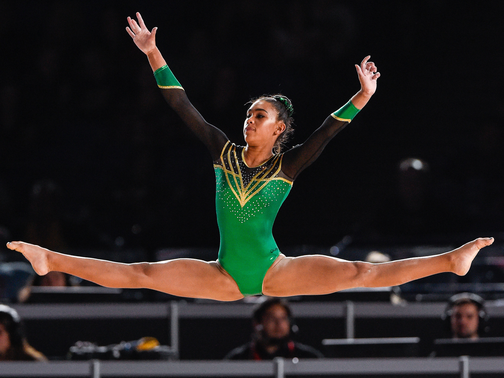Naveen Daries will represent South Africa in artistic gymnastics ©Getty Images