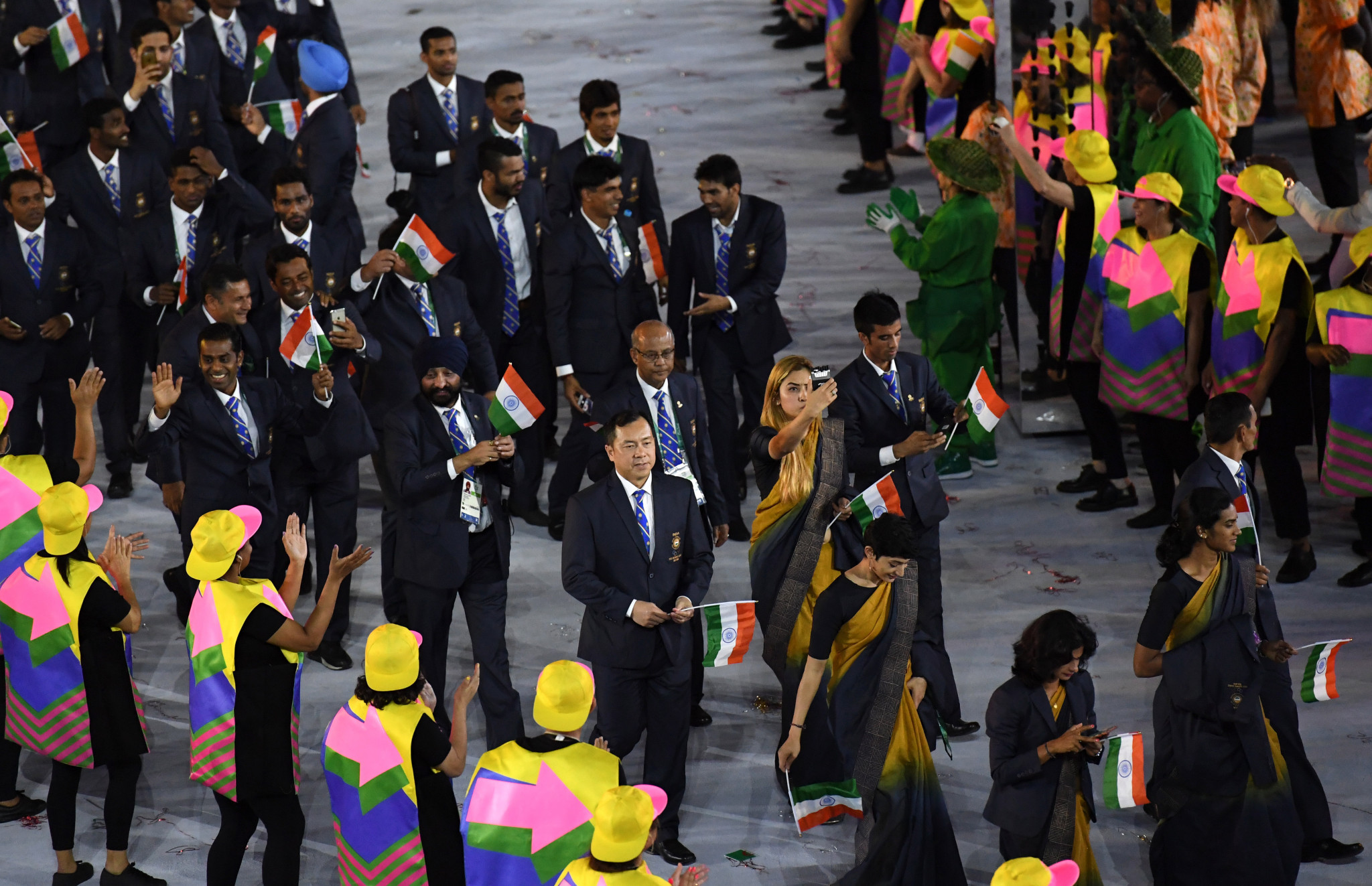 India's female athletes will now wear a blazer and trousers like their male counterparts ©Getty Images