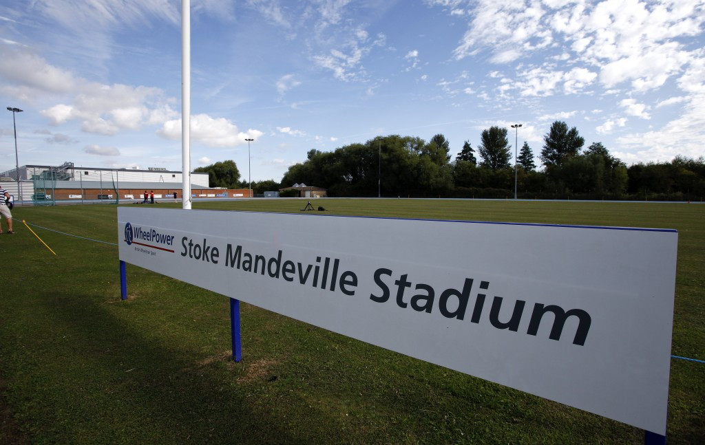 Stoke Mandeville Stadium will host a ceremony in the run-up to Rio 2016 a year from today ©Getty Images