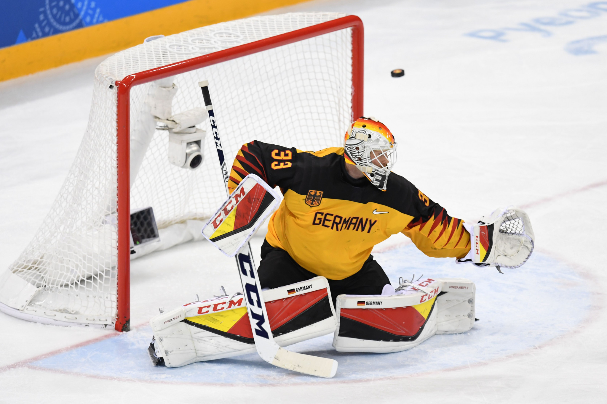 Danny aus den Birken was named as the tournament's best goaltender ©Getty Images