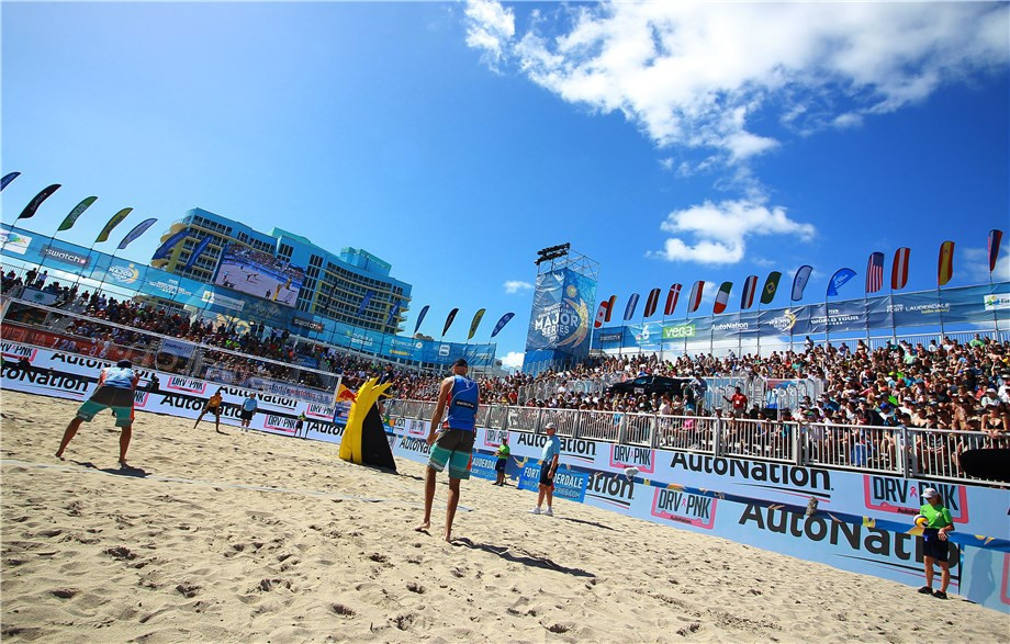 Fort Lauderdale prepares to host third FIVB Beach Volleyball World Tour event