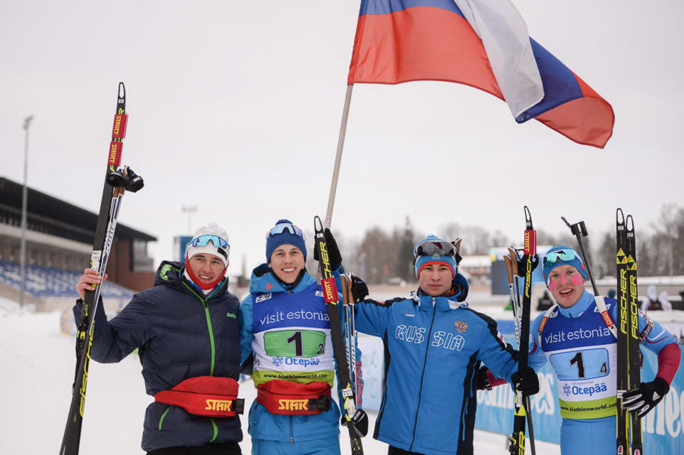Russia defend relay title at IBU Junior World Championships